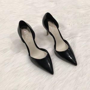 Aldo Black Patent Stilettos